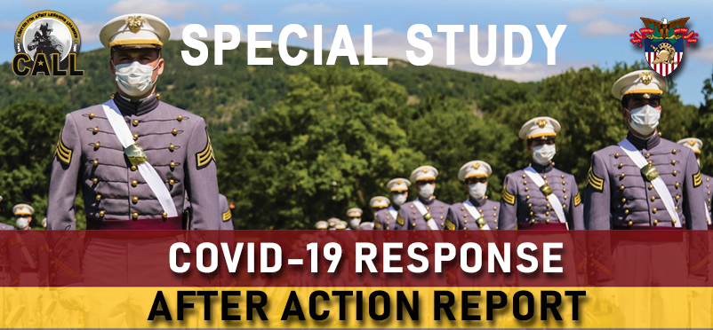 CALL Special Study: USMA COVID-19 Response After Action Report