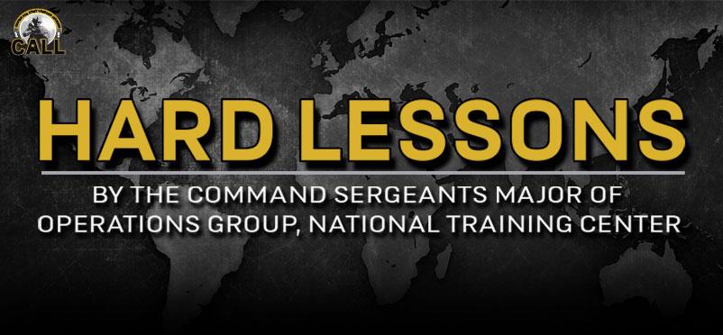 21-07 - Hard Lessons