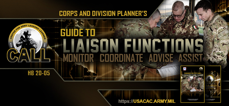 20-05 - Commander and Staff Guide to Liaison Functions