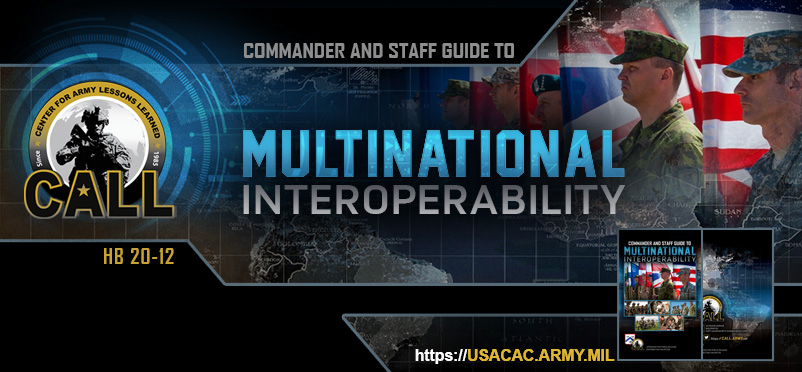 20-12 Commander and Staff Guide to Multinational Interoperability