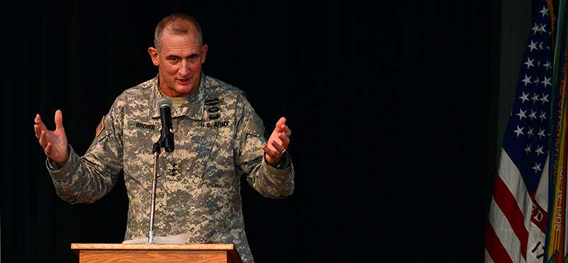 Lt. Gen. Brown says training, education are keys to Army's future